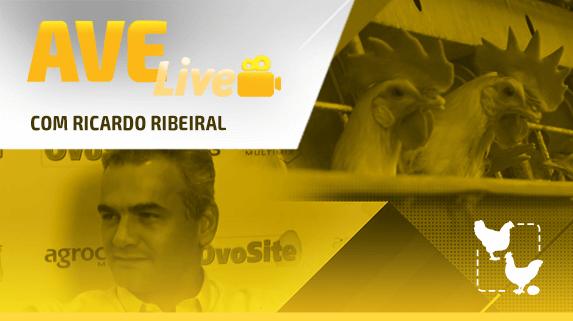Capa do vídeo da série avelive com Ricardo Ribeiral - plataforma de vídeos do agronegócio - Agroflix