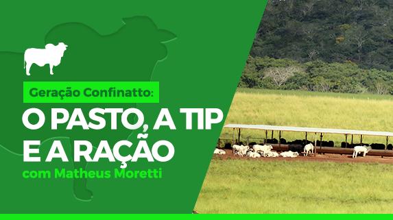 Capa do vídeo da série Geração Confinatto: o pasto, a tip e a ração - plataforma de vídeos do agronegócio - Agroflix
